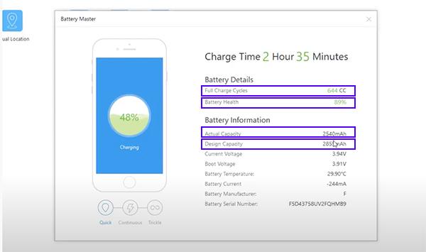 Kiểm tra độ chai pin iPhone bằng iTools cho kết quả nhanh chóng và chính xác