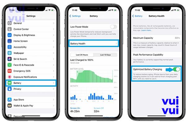 Phần mềm tiết kiệm pin iPhone - iPhone Battery Optimizer for iOS