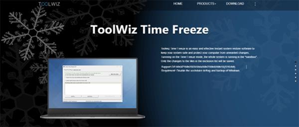 Phần mềm đóng băng ổ cứng Win 10 ToolWiz Time Freeze