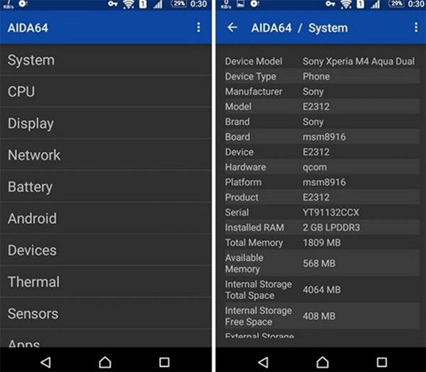 Kiểm tra tuổi tho pin Android