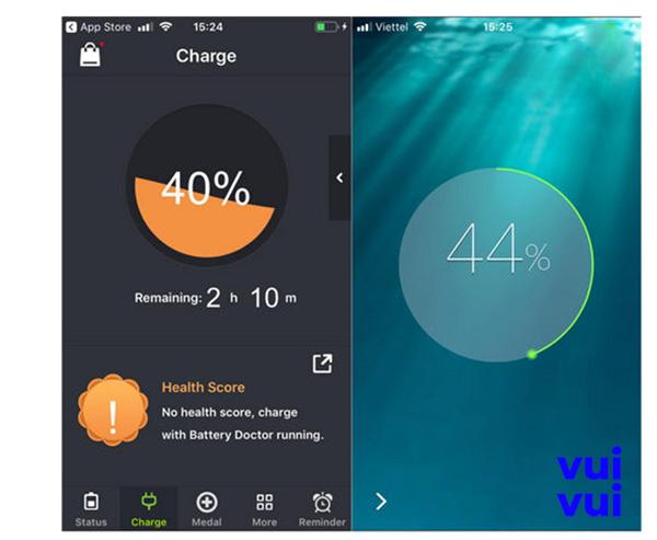 Ứng dụng tiết kiệm pin iPhone - Battery Doctor HD For iPad