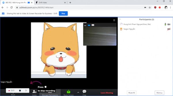 Quay màn hình máy tính Online trên Zoom (1)