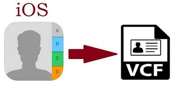 Cách xuất danh bạ từ iPhone ra file vcf