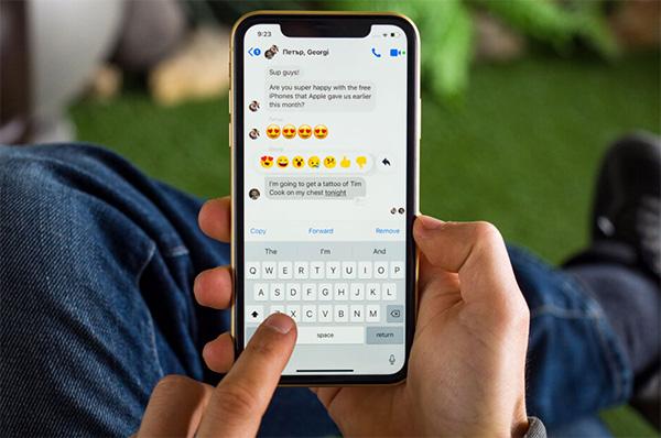Tốc độ con trỏ trượt trên iPhone là gì?