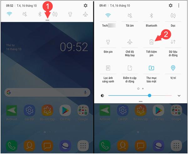 Cách bật/tắt chế độ tiết kiệm pin cho điện thoại Android