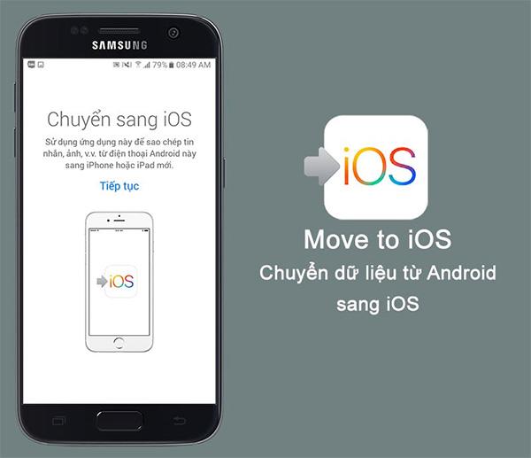 Move to iOS - Ứng dụng chuyển dữ liệu từ Android sang iPhone