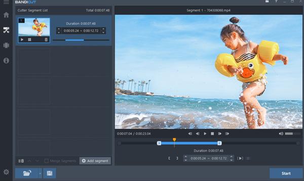 Phần mềm Bandicut Video Cutter