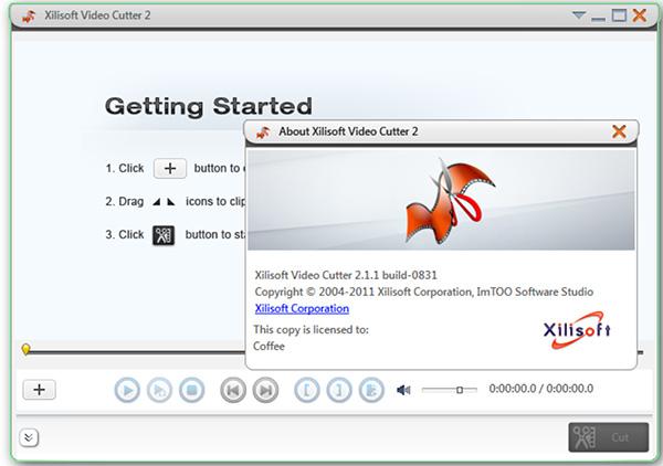 Phần mềm cắt video cho máy tính miễn phí Xilisoft Video Cutter