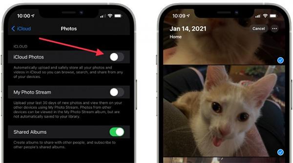 Tắt tính năng đồng bộ ảnh từ iPhone lên iCloud