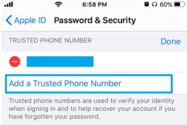 Cách đổi số điện thoại trên iCloud khi bị mất (3)