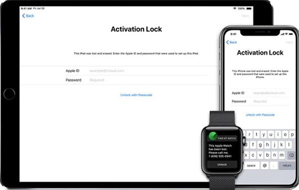 Cách xóa iCloud ẩn bằng tính năng Activation Lock
