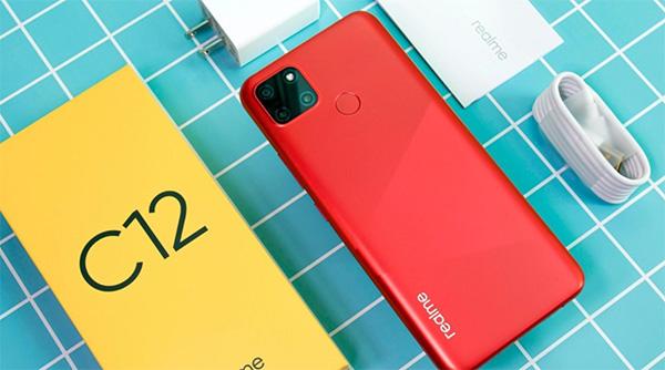 Realme C12 - Pin 6000mAh - Sạc 10W - ra mắt 25.08.2020