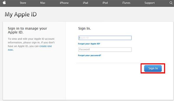 Cách đổi mật khẩu iCloud khi quên câu hỏi bảo mật (1)