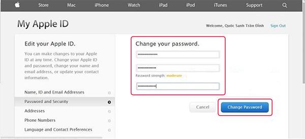 Cách đổi mật khẩu iCloud khi quên câu hỏi bảo mật (6)