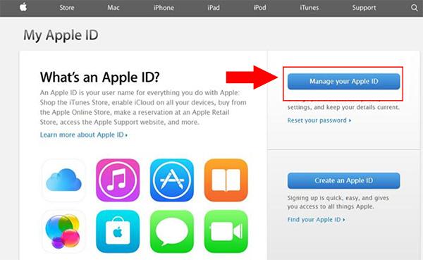 Cách đổi mật khẩu iCloud khi quên câu hỏi bảo mật