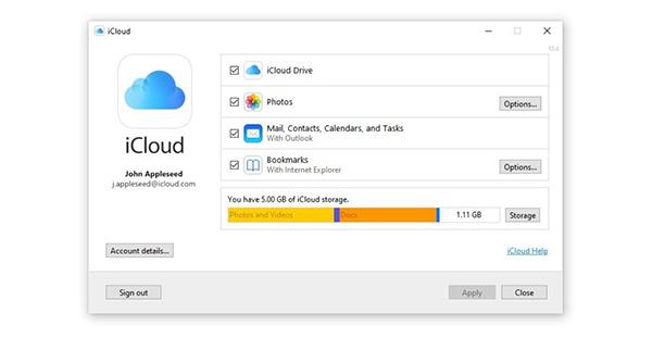 iCloud có tác dụng tự động đồng bộ, sao lưu dữ liệu trên các thiết bị của Apple