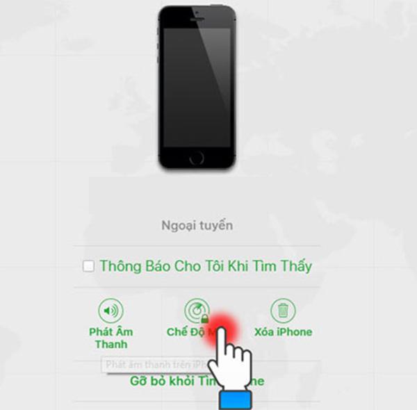 Cách khóa iCloud khi bị mất iPhone (1)