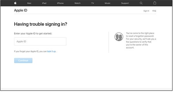 Khôi phục tài khoản iCloud bằng iPhone