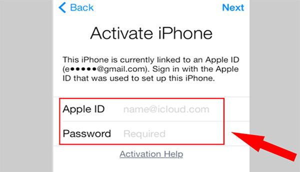 Kiểm tra iCloud ẩn bằng cách khôi phục cài đặt gốc (1)