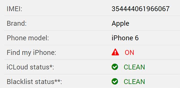 Sử dụng IMEI sẽ giúp bạn kiểm tra iPhone có bị dính iCloud ẩn không?