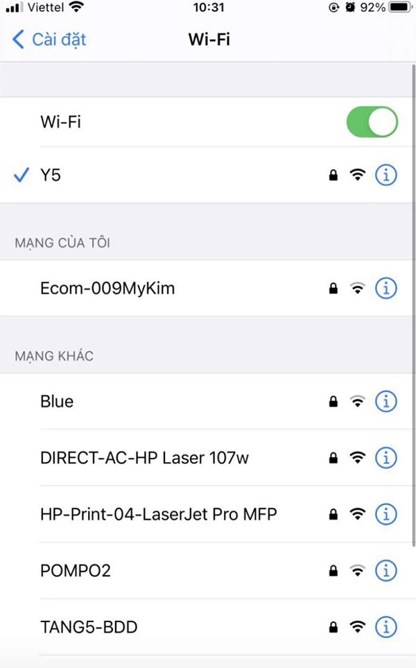 Mất kết nối hoặc kết nối mạng không ổn định khi tạo tài khoản iCloud là một trong những nguyên nhân