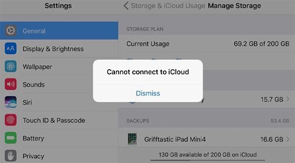 Lỗi vượt quá số lượng tài khoản miễn phí tối đa được kích hoạt trên iPhone