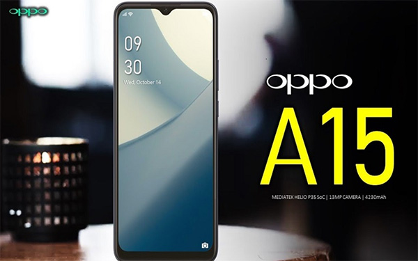 OPPO A15   A15S