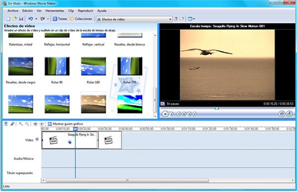 Phần mềm ghép ảnh thành video trên máy tính Windows Movie Maker