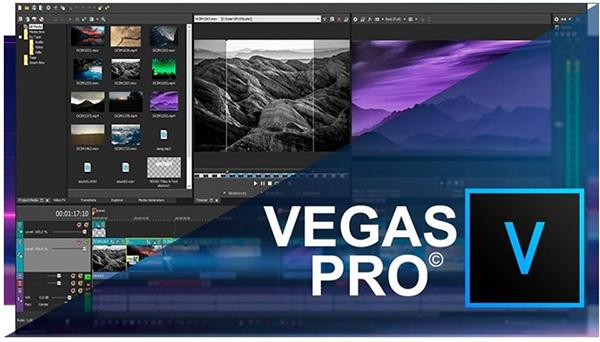 Phần mềm ghép ảnh thành video trên máy tính miễn phí Sony Vegas Pro