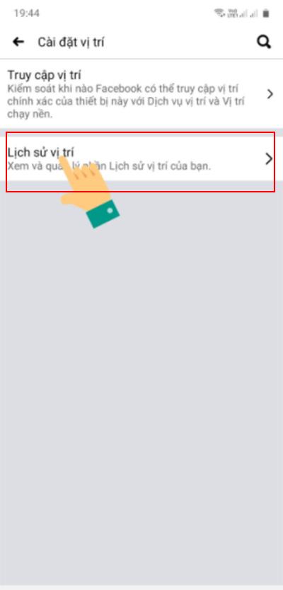 Cách xác định vị trí của người khác thông qua Facebook (1)
