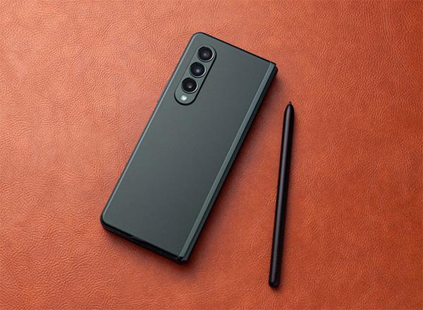Galaxy Z Fold3 5G trang bị bút S Pen như trên dòng Galaxy Note