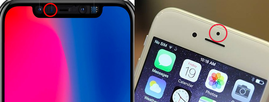 Cảm biến tiệm cận trên iPhone