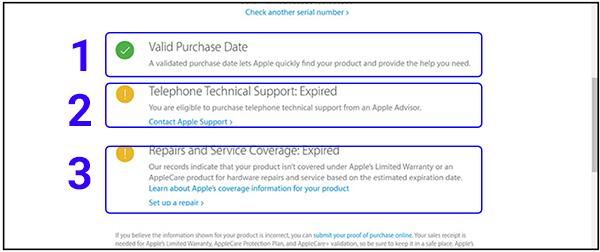 Cách kiểm tra bảo hành iPhone