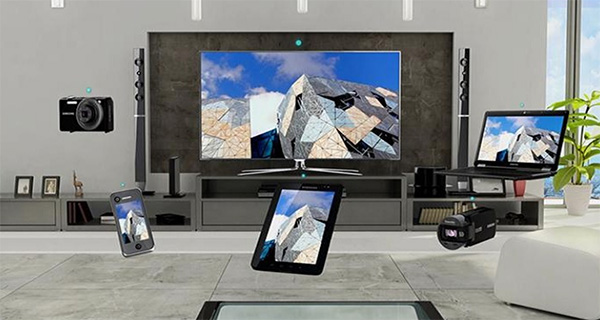 Kết nối laptop với tivi Samsung qua Wifi Display