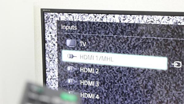 Kết nối laptop với tivi qua HDMI không có hình