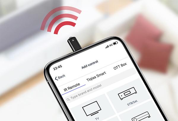 Cách điều khiển điều hòa bằng điện thoại qua IR Remote Control