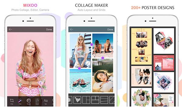 Ứng dụng ghép ảnh trên điện thoại Mixoo