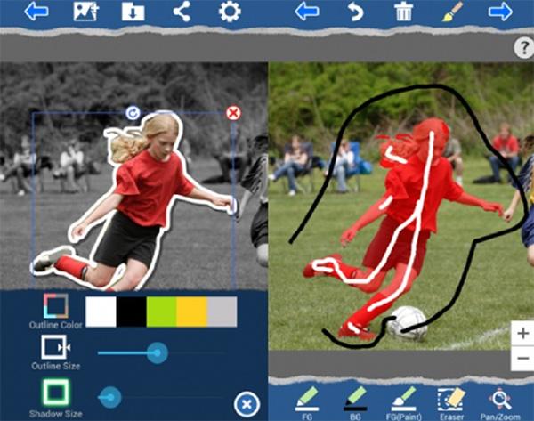 Ứng dụng ghép ảnh trên điện thoại Stickit