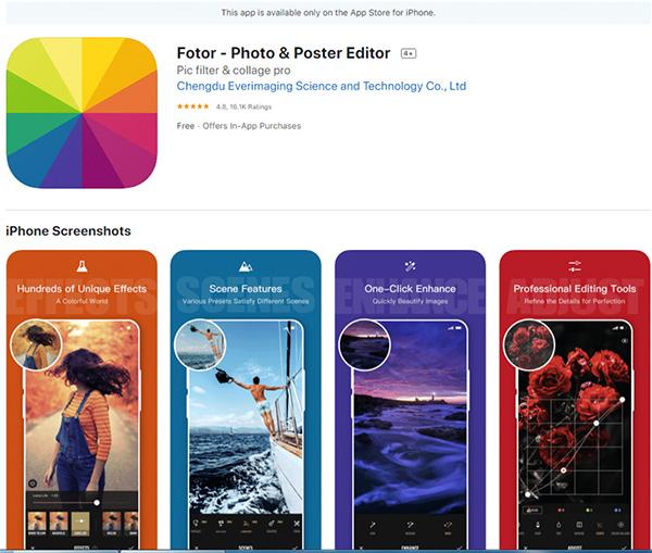 Fotor Ứng dụng ghép ảnh trên điện thoại hoàn toàn miễn phí
