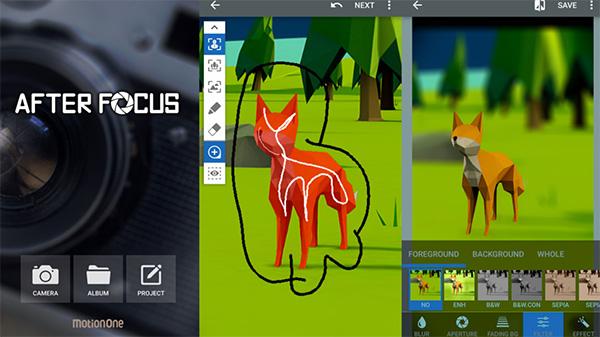 Phần mềm chỉnh sửa ảnh AfterFocus