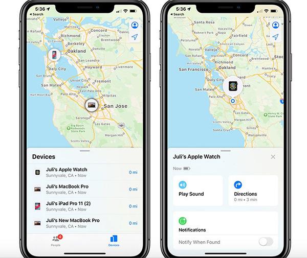 Sử dụng Find My iPhone giúp bạn dễ dàng theo dõi và xóa iPhone khi bị mất