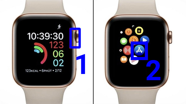 Mở kho ứng dụng App Store trên Apple Watch