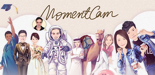 Ứng dụng chuyển ảnh thành Anime MomentCam