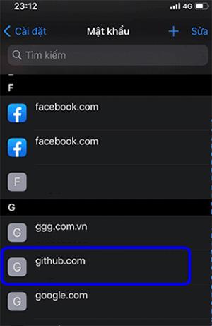 Cách xem mật khẩu Gmail đã lưu trên iPhone (2)