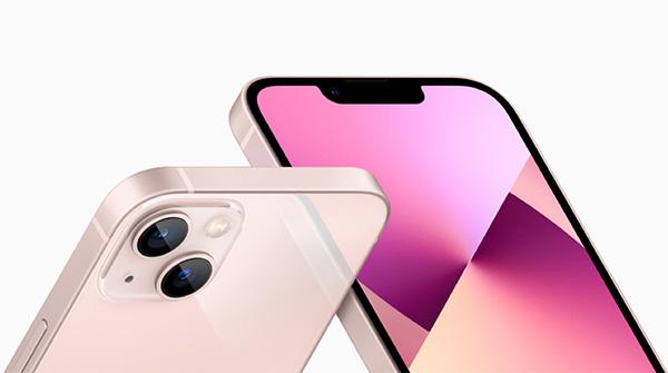 iPhone 13 phiên bản màu hồng.