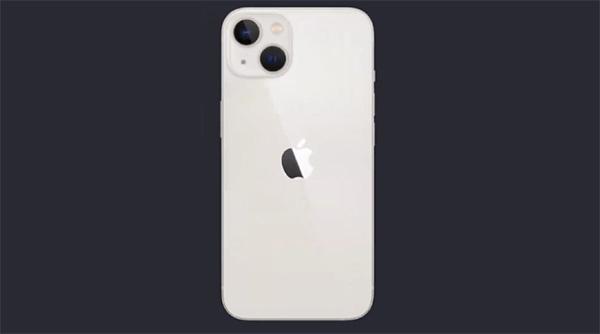 iPhone 13 phiên bản màu trắng.