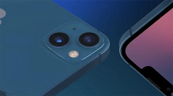 iPhone 13 phiên bản màu xanh dương.