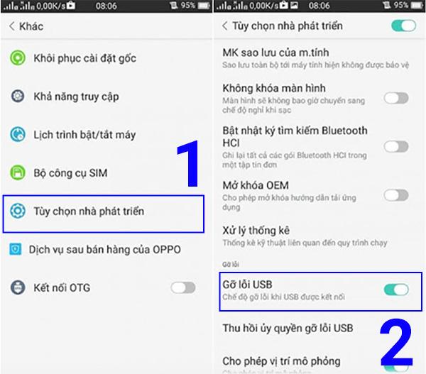 Sử dụng phần mềm DataKit sẽ giúp bạn lấy lại nhật ký cuộc gọi đã xoá trên Android dễ dàng