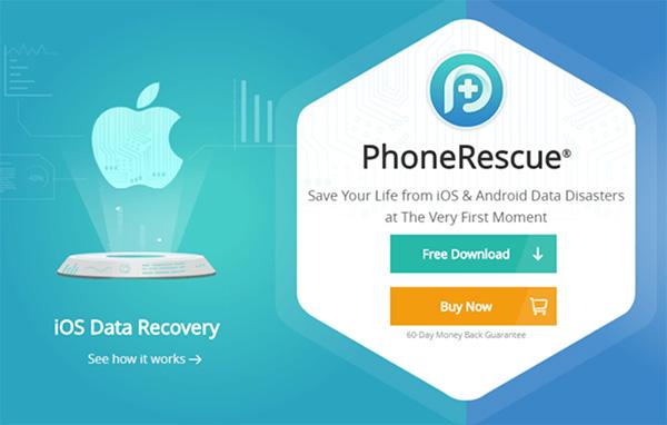Khôi phục nhật ký cuộc gọi đã xoá trên iPhone bằng PhoneRescue