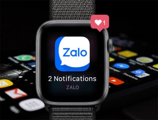 Lỗi không hiển thị thông báo Zalo trên Apple Watch